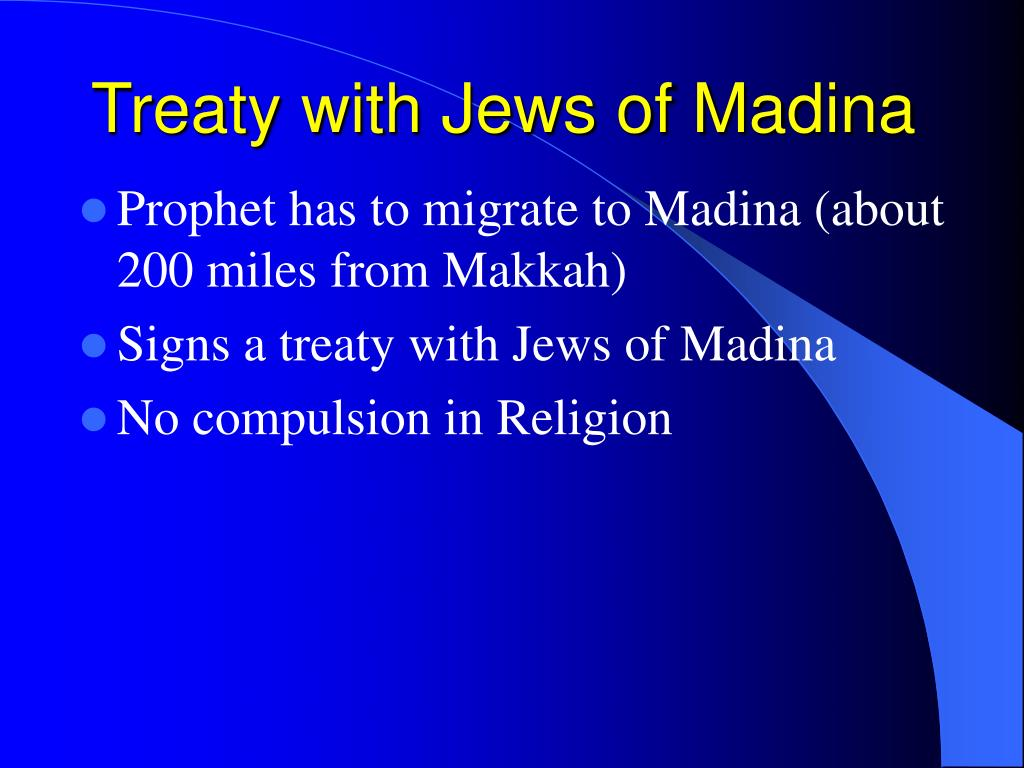 Treaty with Jews of Madina