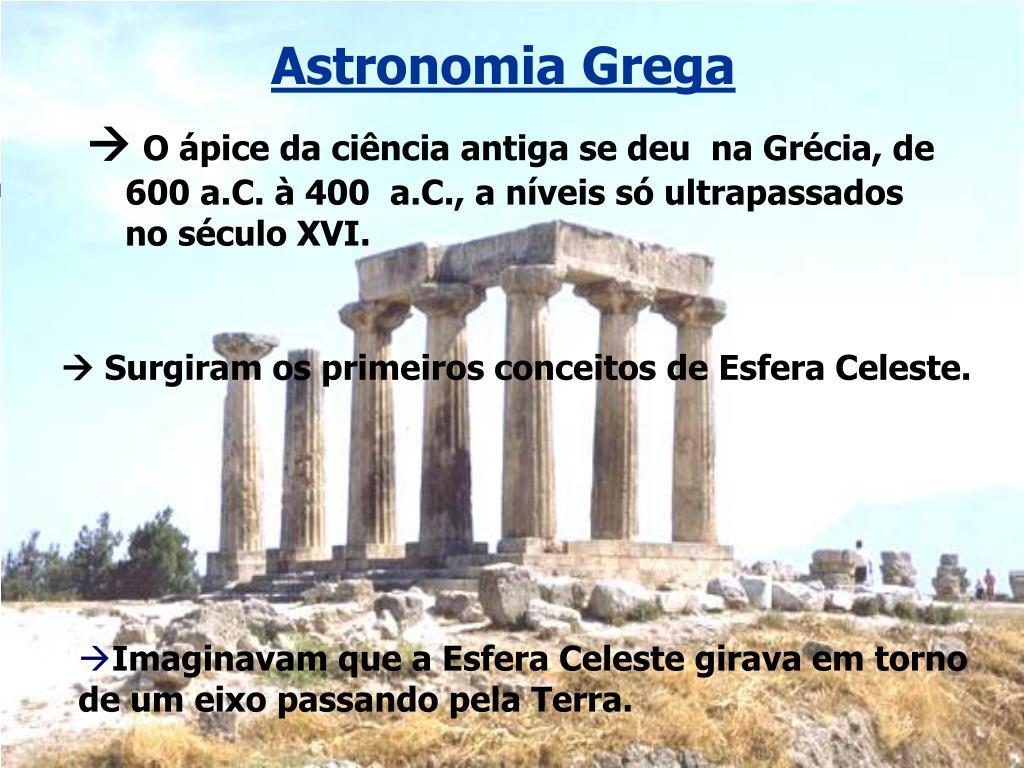 Astronomia Grega