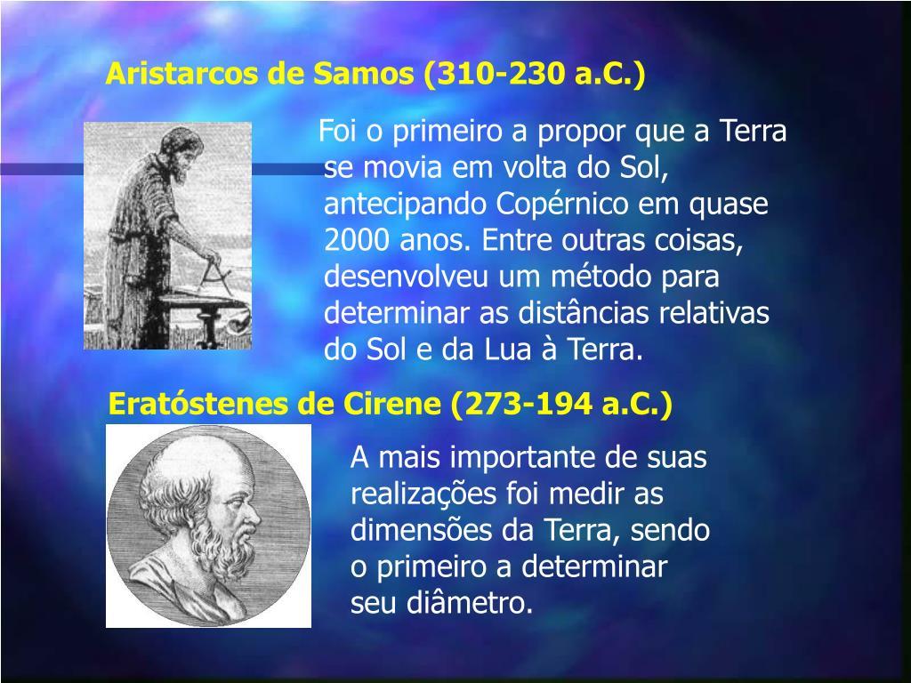 Aristarcos de Samos (310-230 a.C.)