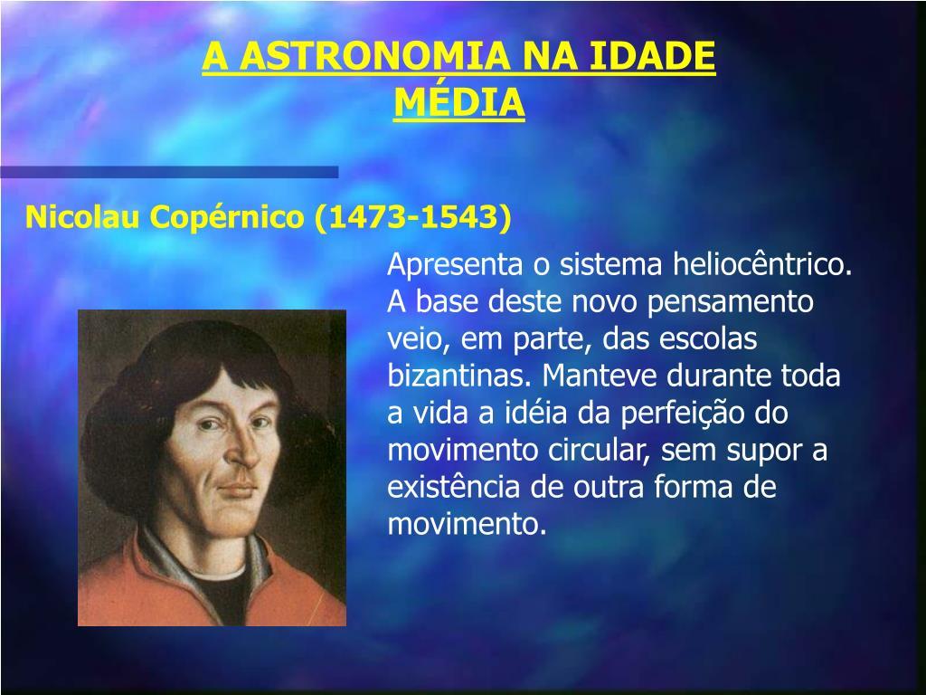 A ASTRONOMIA NA IDADE MÉDIA