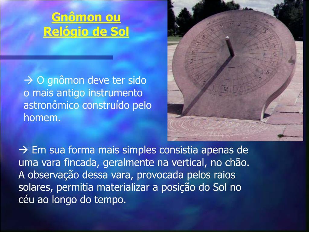 Gnômon ou