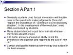section a part 1