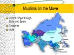 muslims on the move