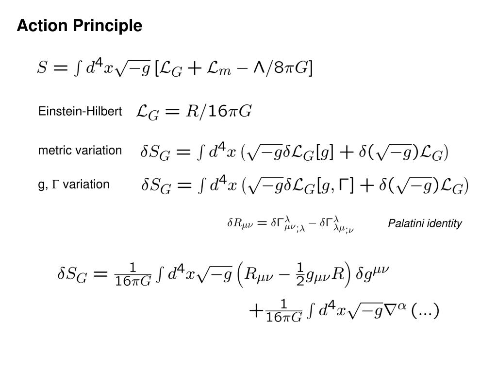 Action Principle