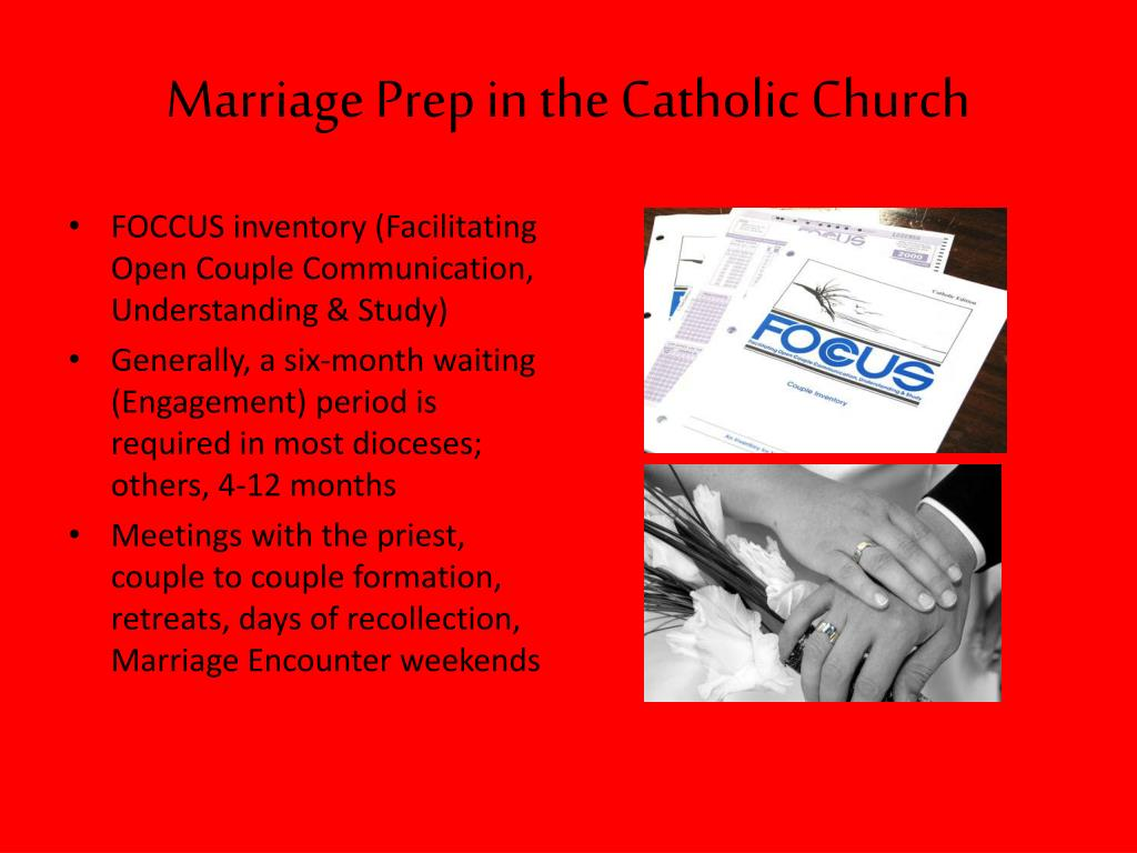 Marriage Prep in the Catholic Church