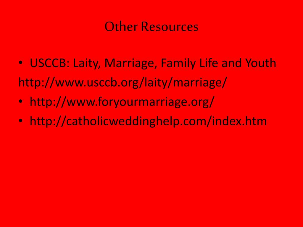 Other Resources