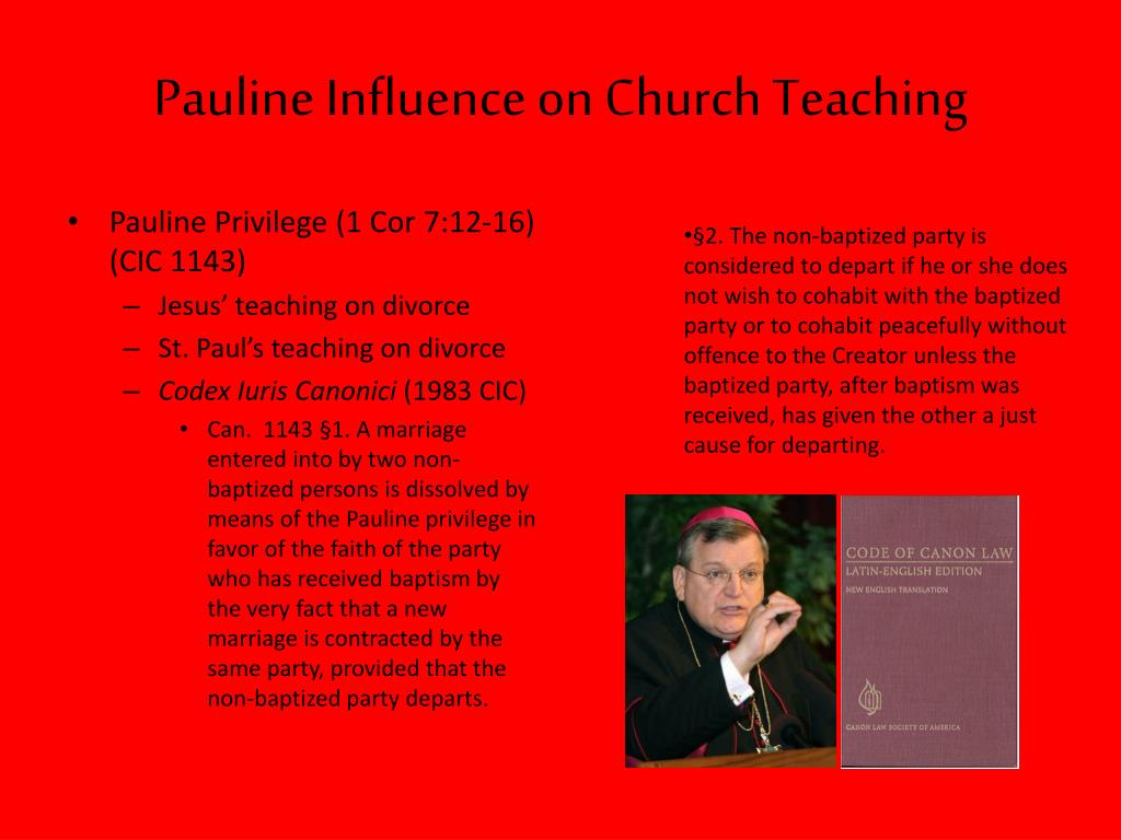 Pauline Influence on Church Teaching