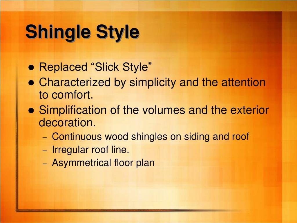 Shingle Style