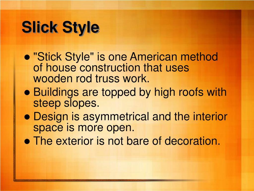 Slick Style