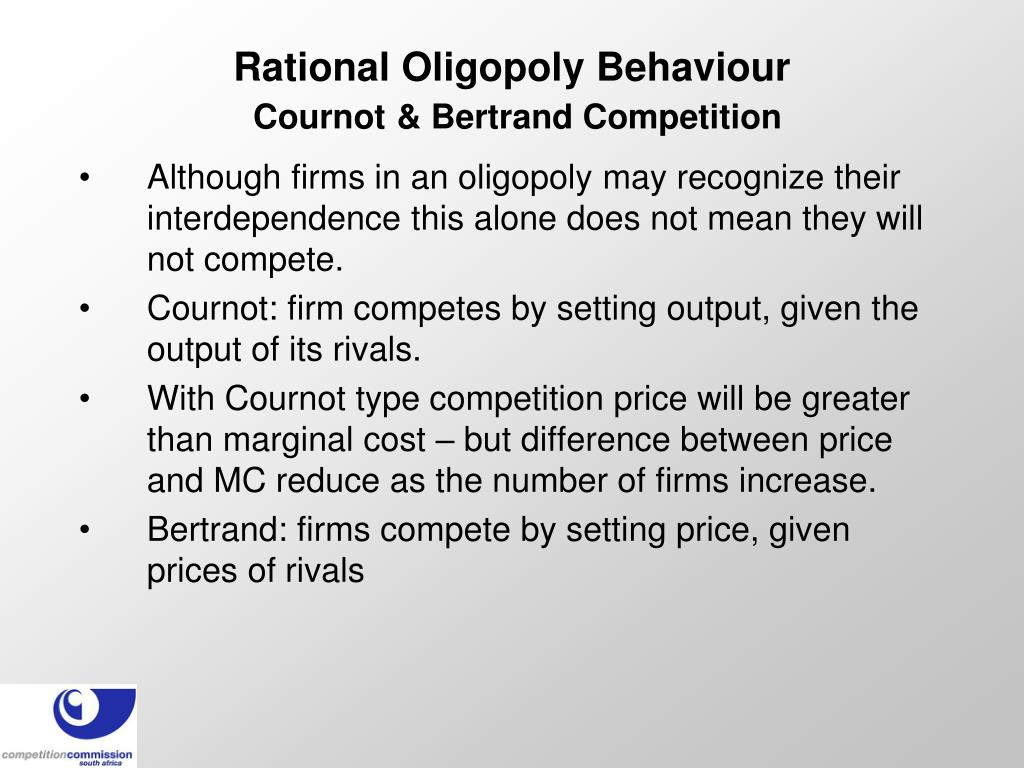 Rational Oligopoly Behaviour