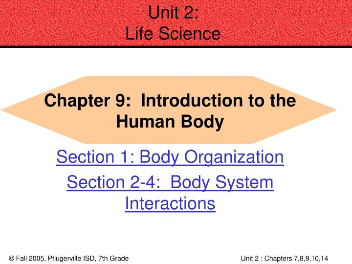 Unit 2 life science