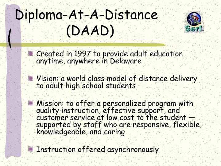 Diploma-At-A-Distance