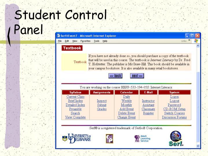 Student Control