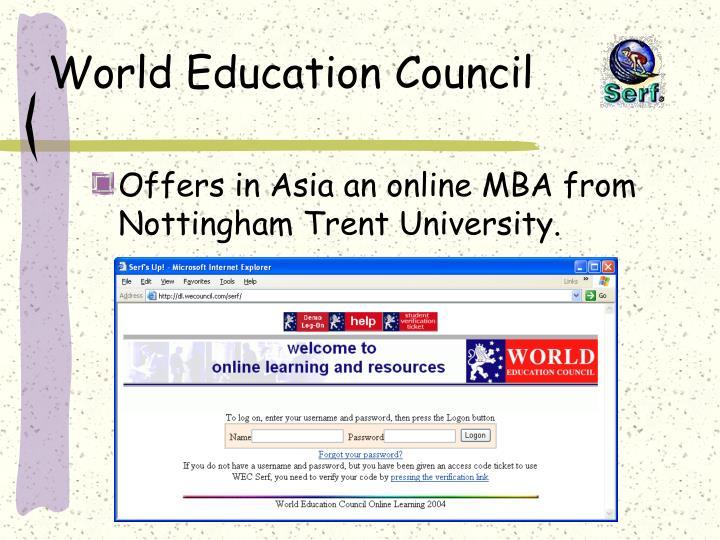 World Education Council