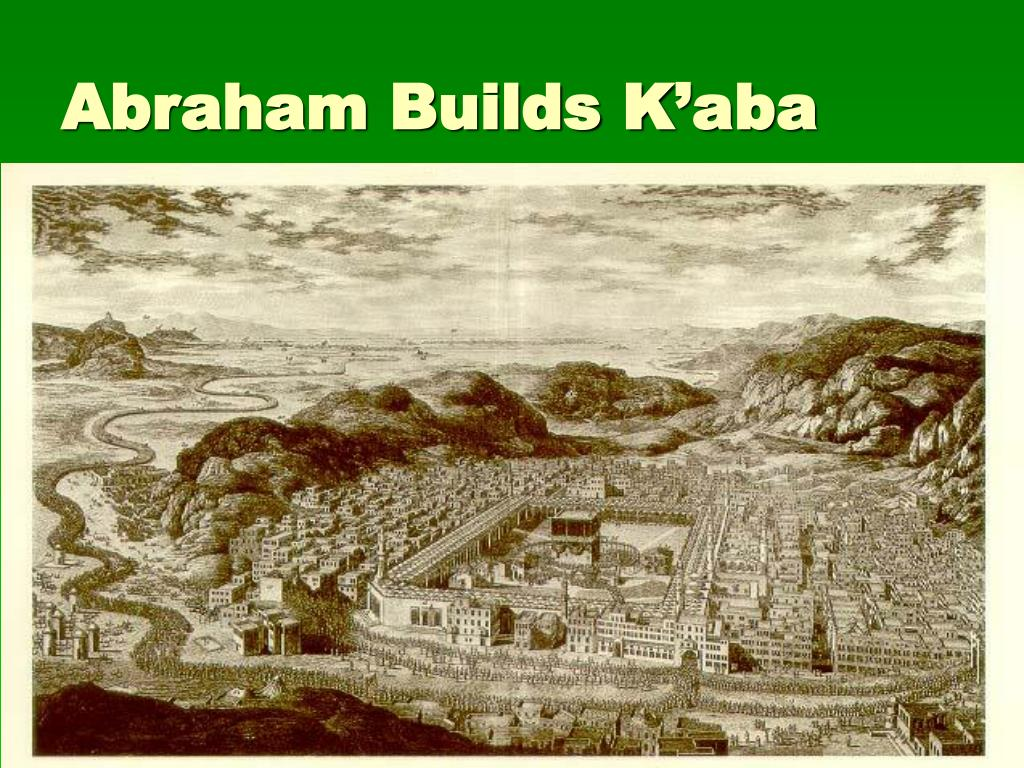 Abraham Builds K'aba