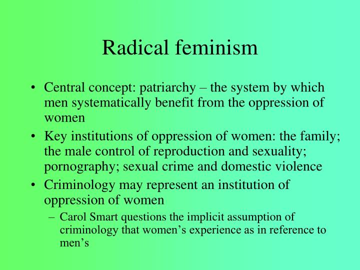 Feminist school of criminology