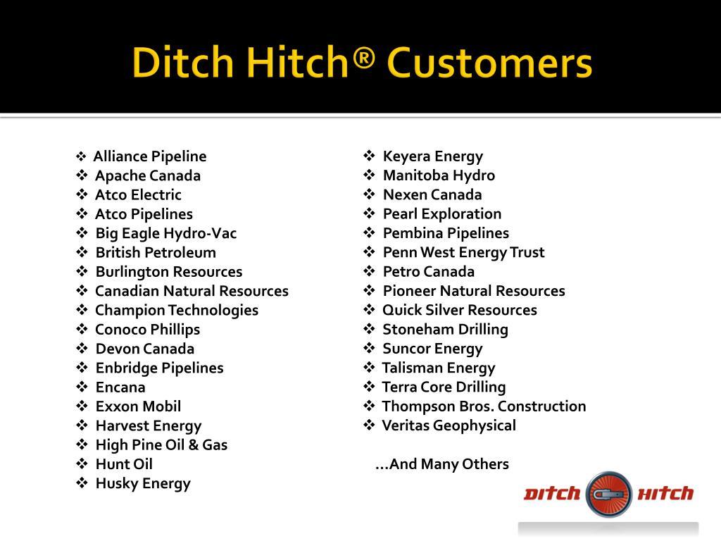 Ditch Hitch