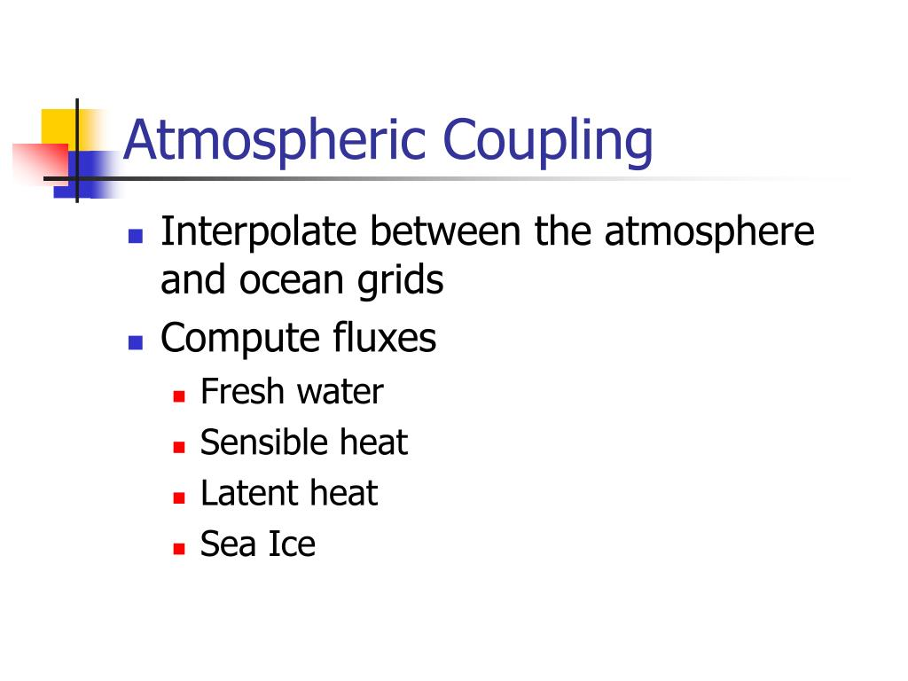 Atmospheric Coupling