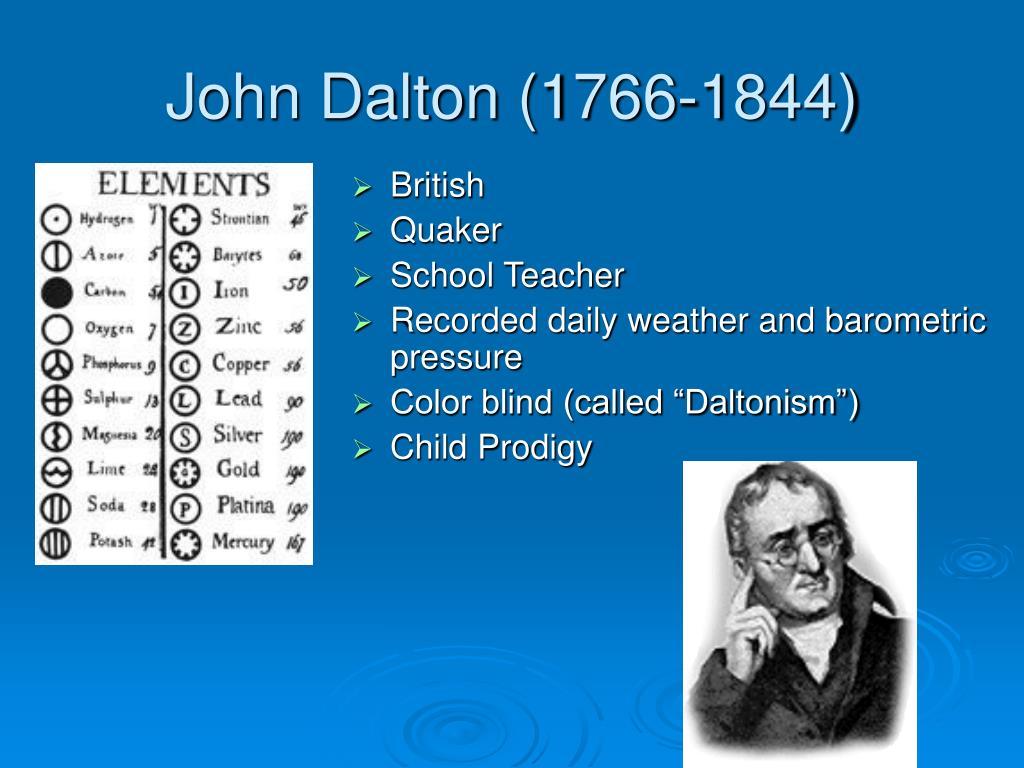 john dalton powerpoint