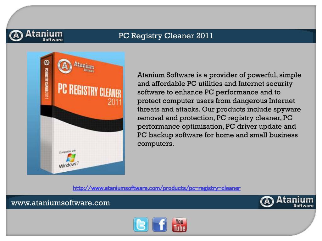 PC Registry Cleaner 2011