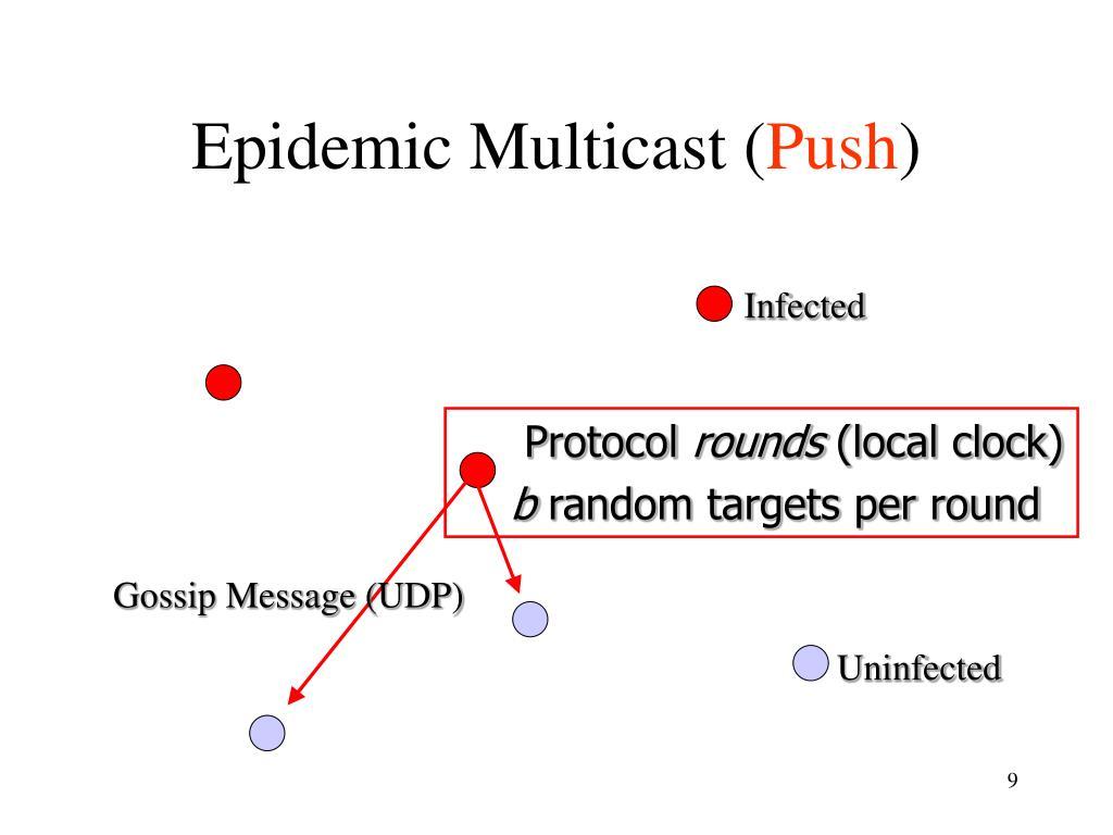 Epidemic Multicast (