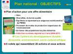 plan national objectifs