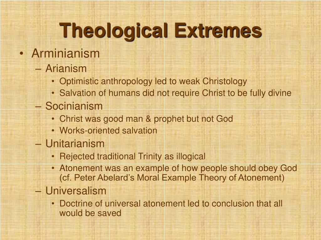 Theological Extremes
