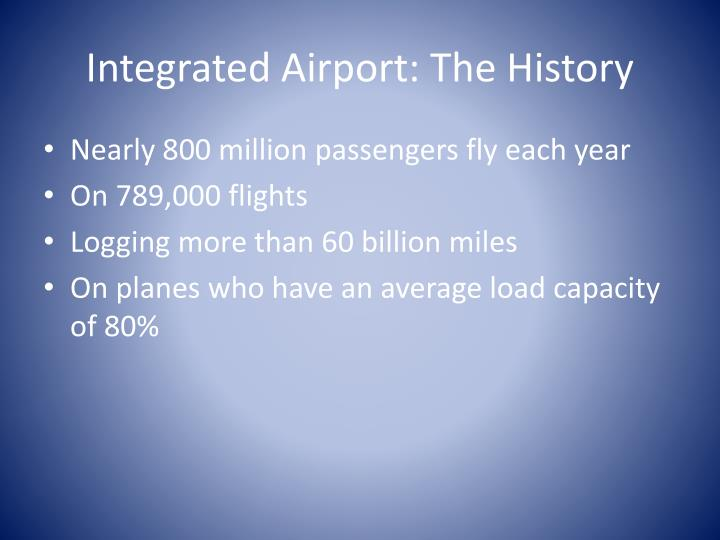 Integrated airport the history