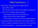 older bad history 1