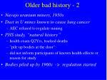 older bad history 2