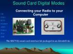 sound card digital modes1
