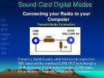sound card digital modes3