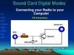 sound card digital modes4