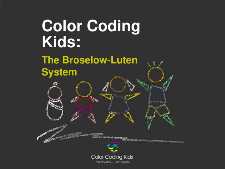 Color coding kids