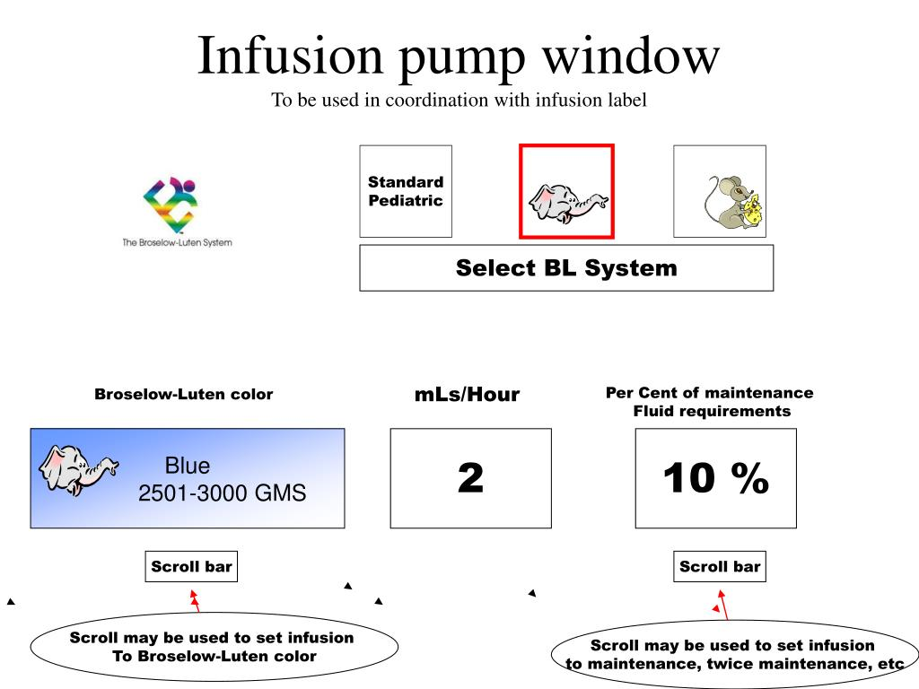 Infusion pump window