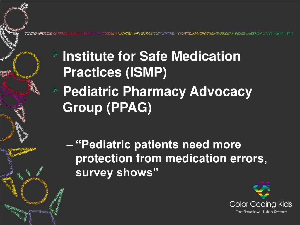 Institute for Safe Medication Practices (ISMP)