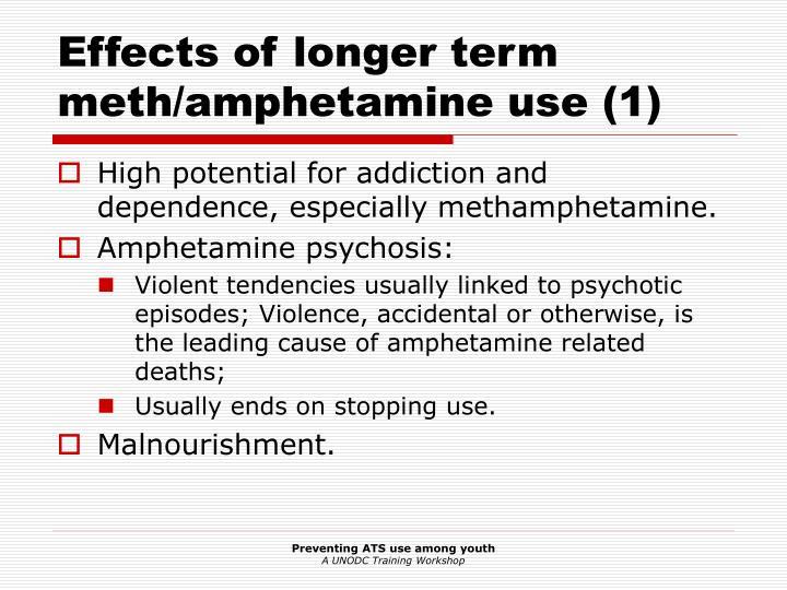 Effects of longer term meth/amphetamine use (1)