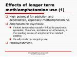 effects of longer term meth amphetamine use 1