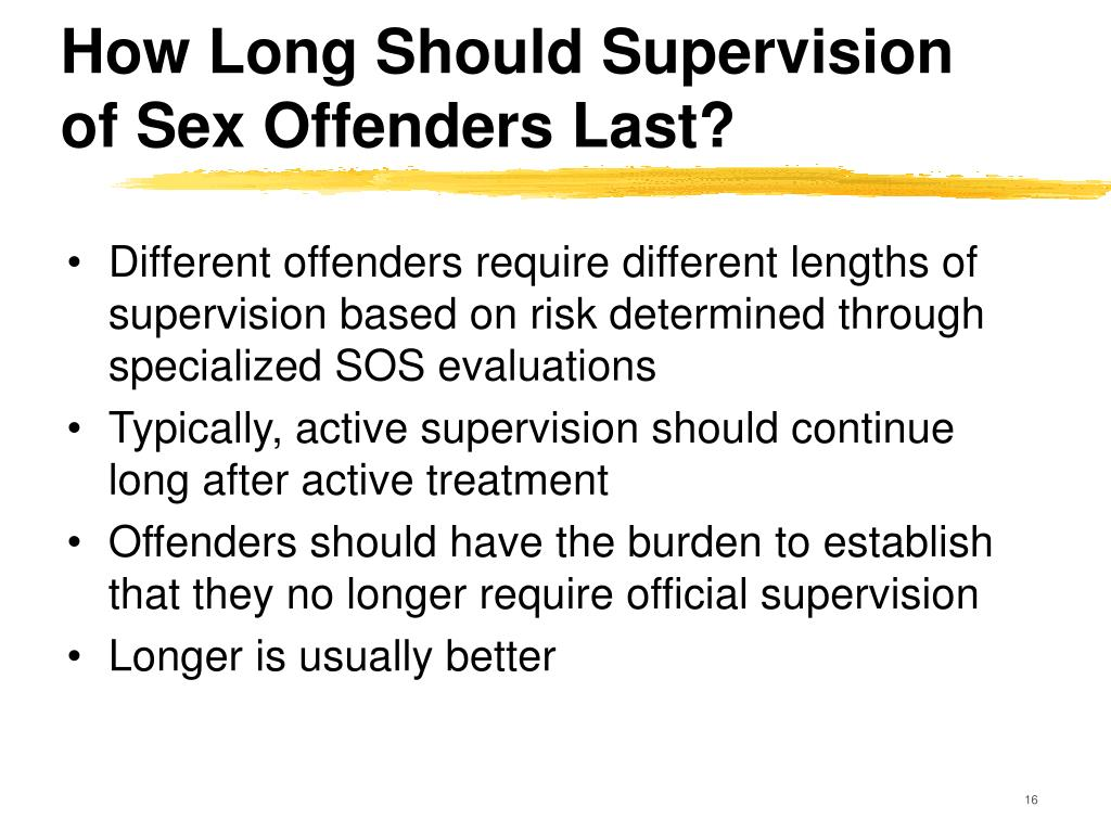 Treating Female Sex Offenders and Standards for