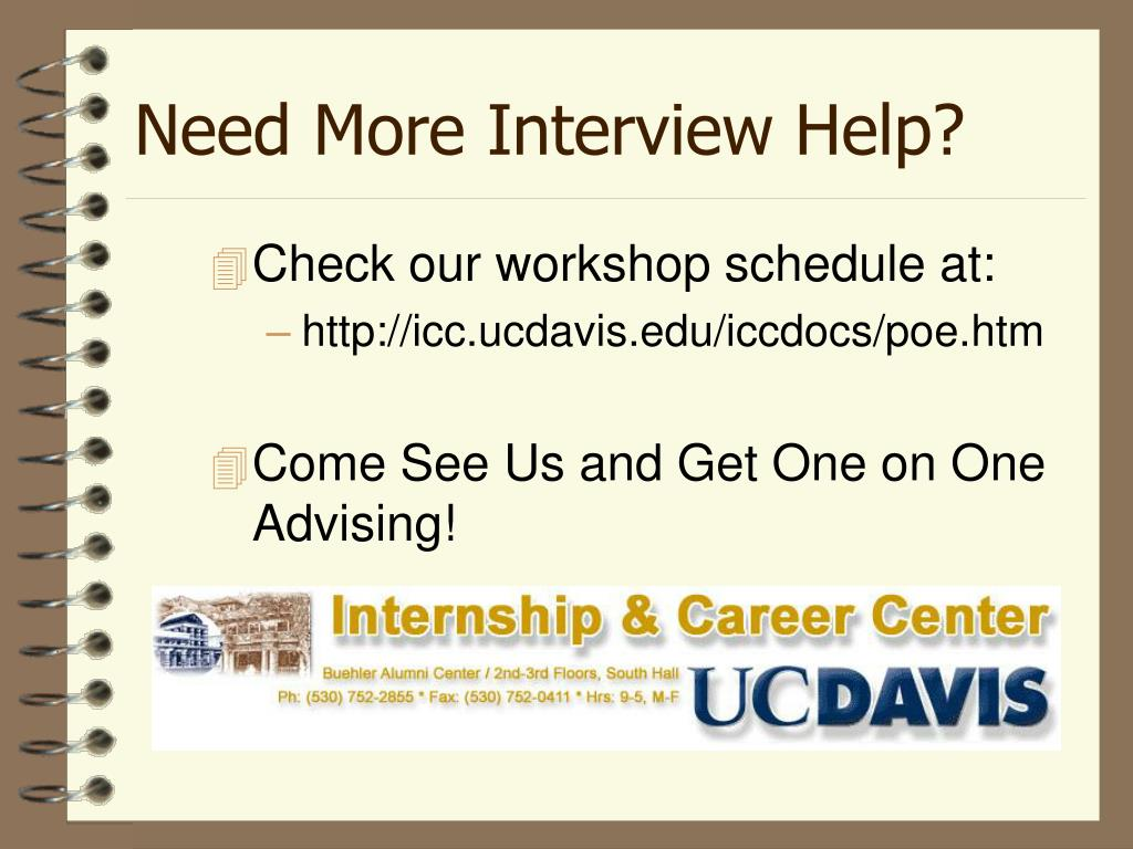 Need More Interview Help?