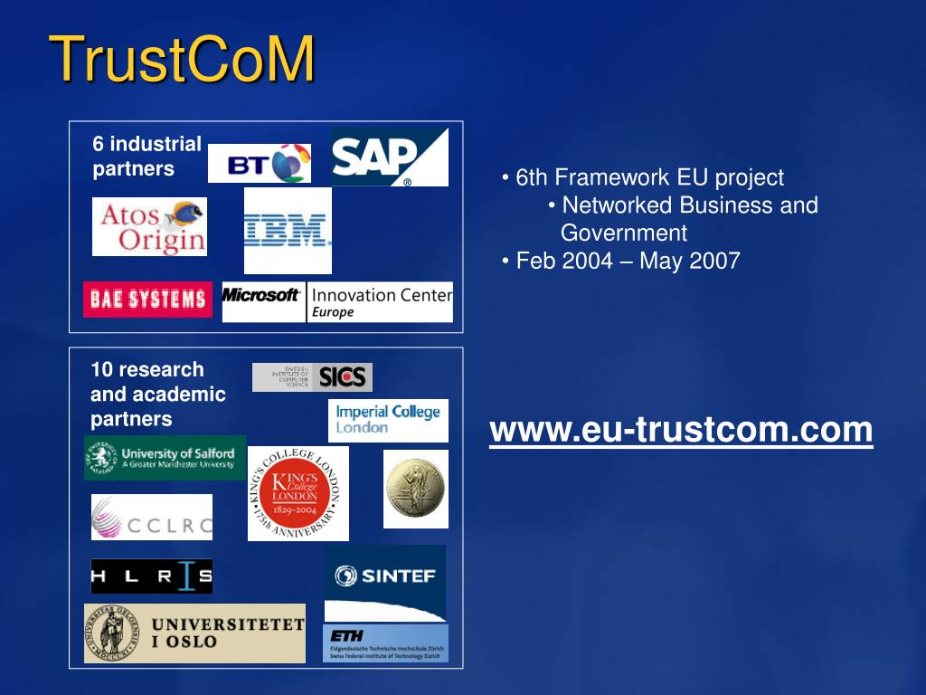 TrustCoM