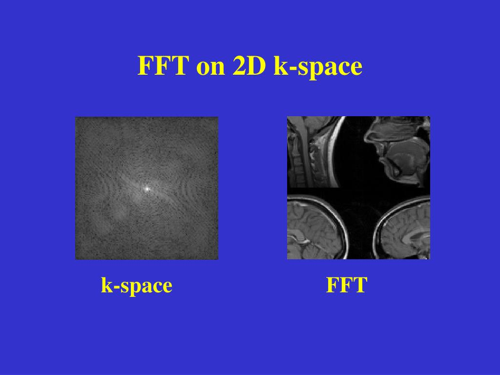 FFT on 2D k-space