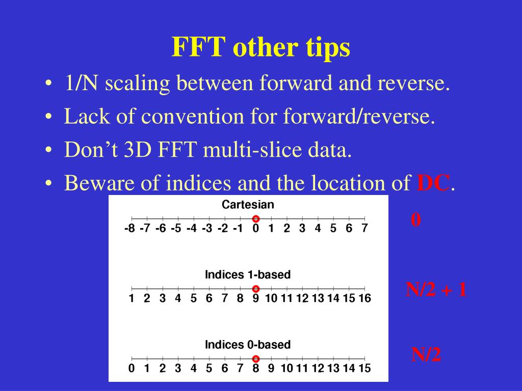 FFT other tips