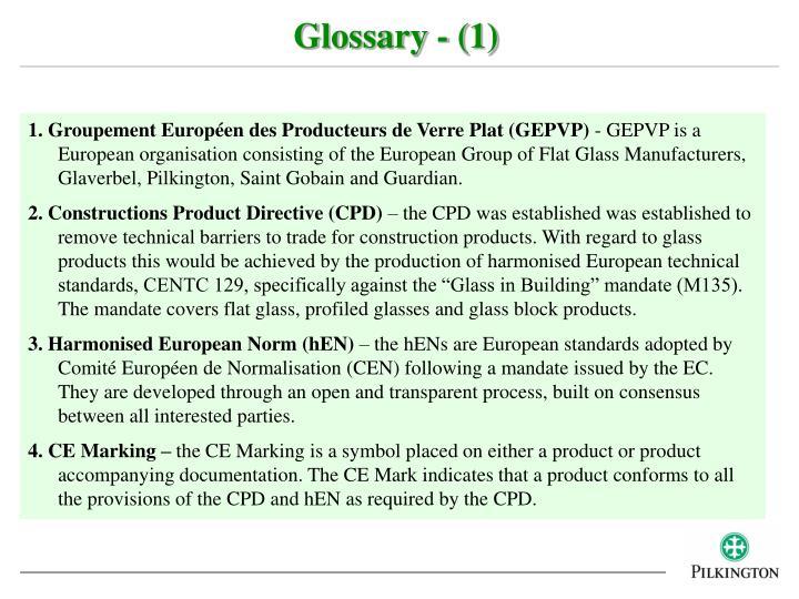 Glossary - (1)