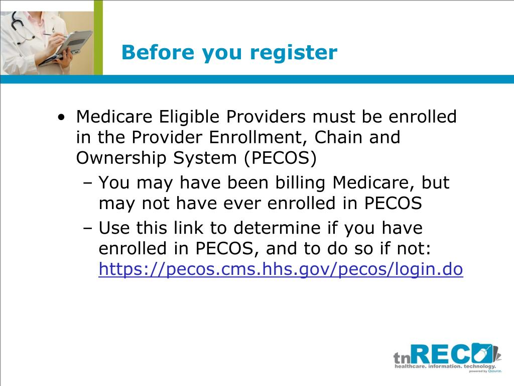 Before you register
