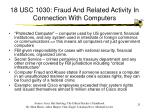 18 usc 1030 fraud and related activity in connection with computers25