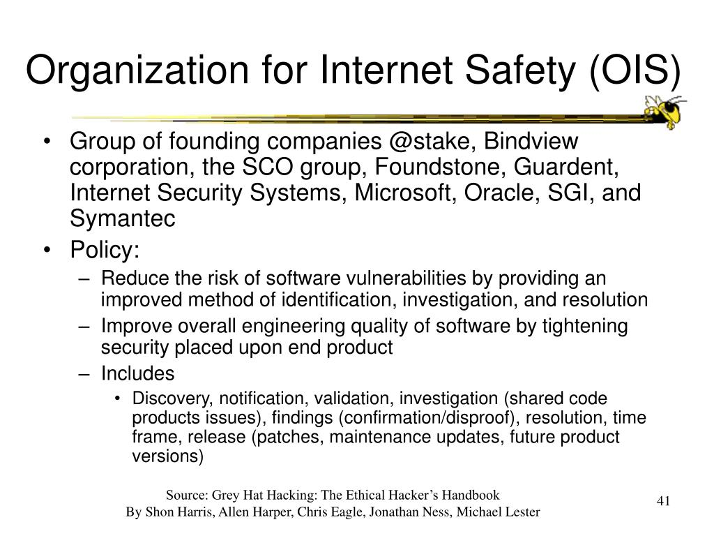 Organization for Internet Safety (OIS)