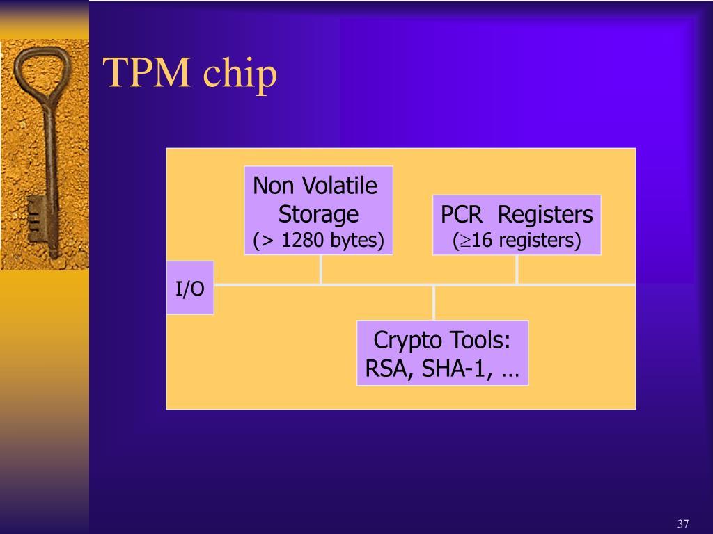 TPM chip