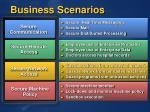 business scenarios