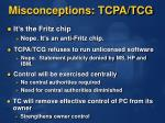 misconceptions tcpa tcg